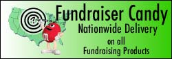 Fundraiser candy, M&M  & Hershey's fundraiser candy, pre-order and special rebate offers availabe
